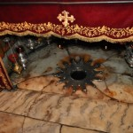 Birth place of Jesus in Bethlehem.