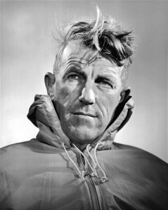 Sir Edmund Hillary First person to climb Mt Everest